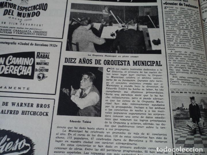 Coleccionismo de Revista Destino: REVISTA DESTINO Nº 862- 1954 EL CIRCO, JUAN MANEN VIOLINISTA , ver fotos - Foto 11 - 192227787