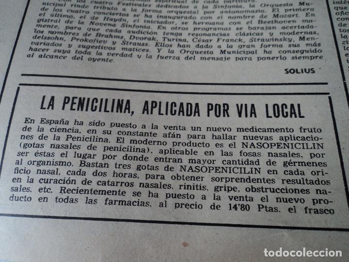 Coleccionismo de Revista Destino: REVISTA DESTINO Nº 862- 1954 EL CIRCO, JUAN MANEN VIOLINISTA , ver fotos - Foto 12 - 192227787