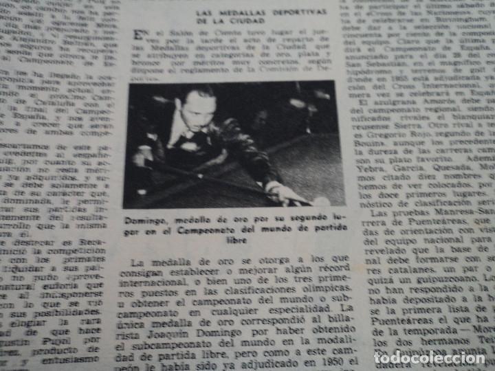 Coleccionismo de Revista Destino: REVISTA DESTINO Nº 862- 1954 EL CIRCO, JUAN MANEN VIOLINISTA , ver fotos - Foto 13 - 192227787