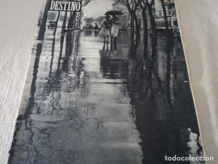 REVISTA DESTINO Nº 915- 1955 RASTVOROV SERVICIO SECRETO SOVIETICO , VER FOTOS (Coleccionismo - Revistas y Periódicos Modernos (a partir de 1.940) - Revista Destino)