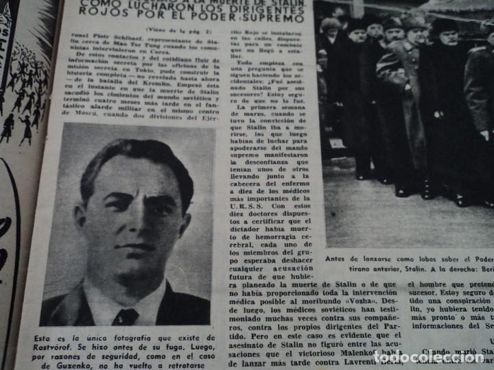 Coleccionismo de Revista Destino: REVISTA DESTINO Nº 915- 1955 RASTVOROV SERVICIO SECRETO SOVIETICO , ver fotos - Foto 4 - 192227936