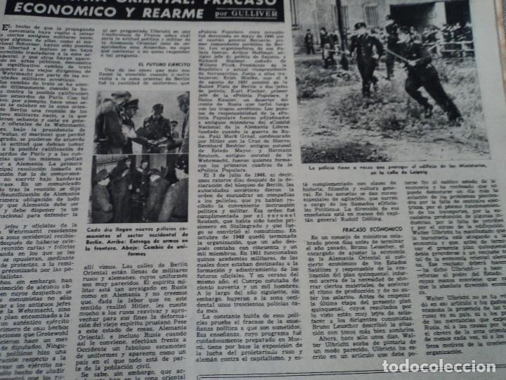 Coleccionismo de Revista Destino: REVISTA DESTINO Nº 915- 1955 RASTVOROV SERVICIO SECRETO SOVIETICO , ver fotos - Foto 6 - 192227936