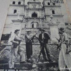 Coleccionismo de Revista Destino: REVISTA DESTINO Nº 882- 1954 TERMINÓ LA GUERRA EN GUATEMALA, VER FOTOS. Lote 192240647