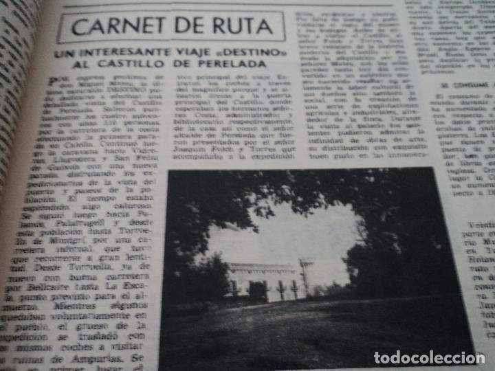 Coleccionismo de Revista Destino: REVISTA DESTINO Nº 882- 1954 TERMINÓ LA GUERRA EN GUATEMALA, ver fotos - Foto 4 - 192240647