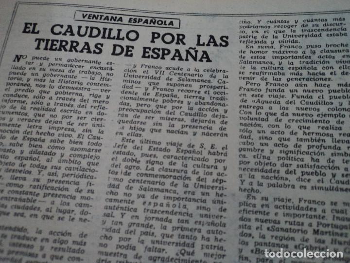 Coleccionismo de Revista Destino: REVISTA DESTINO Nº 875- 1954 EL PADRE PIERRE, ver fotos - Foto 6 - 192240723
