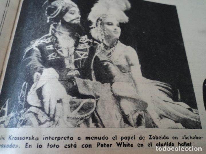 Coleccionismo de Revista Destino: REVISTA DESTINO Nº 875- 1954 EL PADRE PIERRE, ver fotos - Foto 14 - 192240723