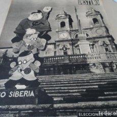 Coleccionismo de Revista Destino: REVISTA DESTINO Nº 827- 1953 VAN GOGH, VER FOTOS. Lote 192240968