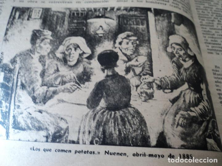 Coleccionismo de Revista Destino: REVISTA DESTINO Nº 827- 1953 VAN GOGH, ver fotos - Foto 4 - 192240968