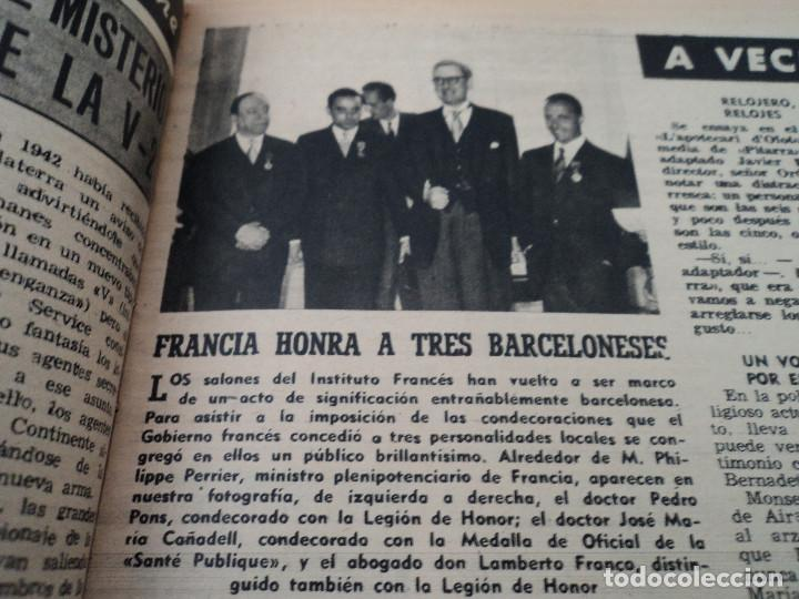 Coleccionismo de Revista Destino: REVISTA DESTINO Nº 827- 1953 VAN GOGH, ver fotos - Foto 7 - 192240968