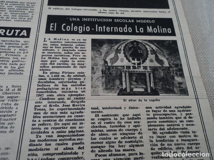 Coleccionismo de Revista Destino: REVISTA DESTINO Nº 827- 1953 VAN GOGH, ver fotos - Foto 8 - 192240968