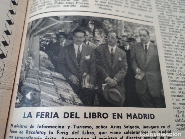 Coleccionismo de Revista Destino: REVISTA DESTINO Nº 827- 1953 VAN GOGH, ver fotos - Foto 9 - 192240968
