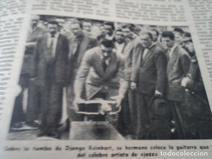 Coleccionismo de Revista Destino: REVISTA DESTINO Nº 827- 1953 VAN GOGH, ver fotos - Foto 10 - 192240968