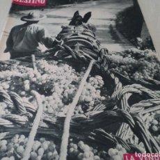 Coleccionismo de Revista Destino: REVISTA DESTINO LA VENDIMIA, RAINIERO Y MONTECARLO, VER FOTOS. Lote 192242576