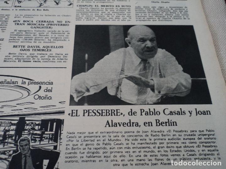 Coleccionismo de Revista Destino: REVISTA DESTINO LA VENDIMIA, RAINIERO Y MONTECARLO, ver fotos - Foto 6 - 192242576