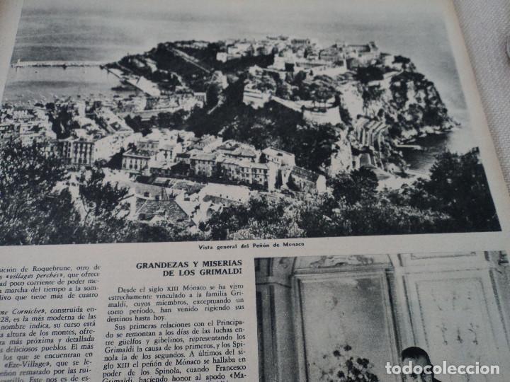 Coleccionismo de Revista Destino: REVISTA DESTINO LA VENDIMIA, RAINIERO Y MONTECARLO, ver fotos - Foto 10 - 192242576