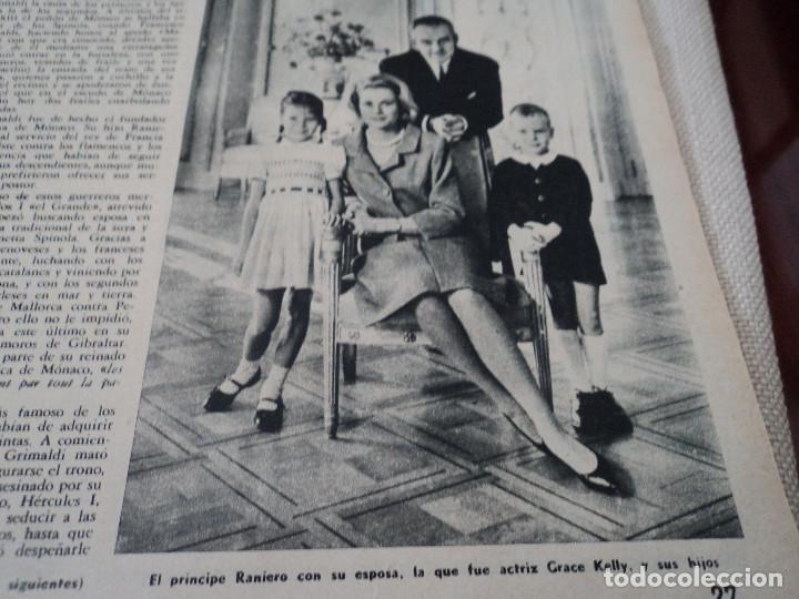 Coleccionismo de Revista Destino: REVISTA DESTINO LA VENDIMIA, RAINIERO Y MONTECARLO, ver fotos - Foto 11 - 192242576