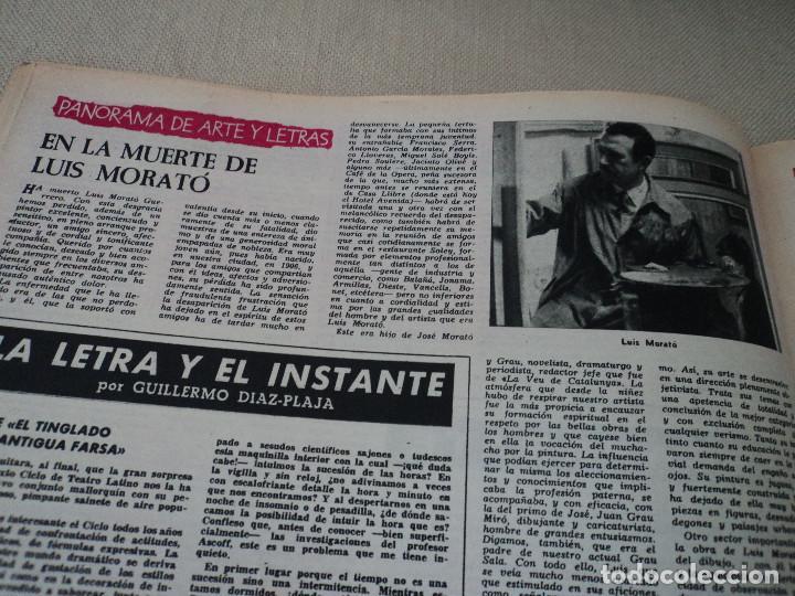 Coleccionismo de Revista Destino: REVISTA DESTINO LA VENDIMIA, RAINIERO Y MONTECARLO, ver fotos - Foto 18 - 192242576