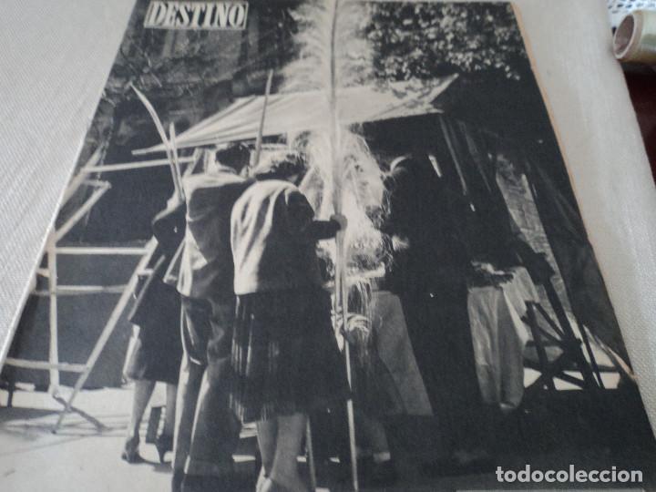 REVISTA DESTINO LA FERIA DE LAS PALMAS Nº 1077, AÑO 1958 VER FOTOS (Coleccionismo - Revistas y Periódicos Modernos (a partir de 1.940) - Revista Destino)