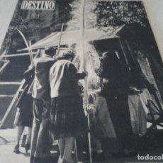 Coleccionismo de Revista Destino: REVISTA DESTINO LA FERIA DE LAS PALMAS Nº 1077, AÑO 1958 VER FOTOS. Lote 192242733