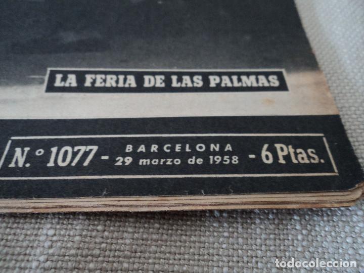 Coleccionismo de Revista Destino: REVISTA DESTINO LA FERIA DE LAS PALMAS Nº 1077, AÑO 1958 ver fotos - Foto 2 - 192242733