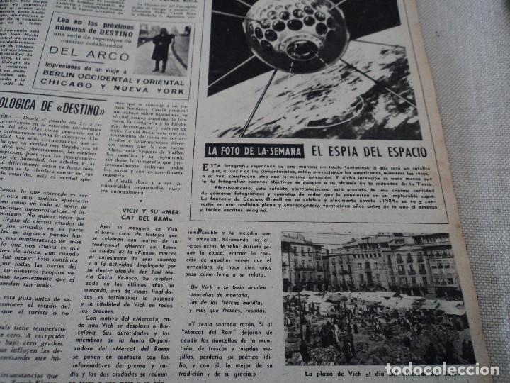 Coleccionismo de Revista Destino: REVISTA DESTINO LA FERIA DE LAS PALMAS Nº 1077, AÑO 1958 ver fotos - Foto 7 - 192242733