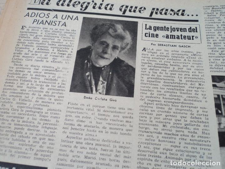 Coleccionismo de Revista Destino: REVISTA DESTINO LA FERIA DE LAS PALMAS Nº 1077, AÑO 1958 ver fotos - Foto 11 - 192242733