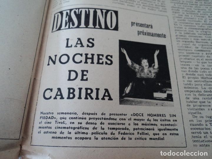 Coleccionismo de Revista Destino: REVISTA DESTINO LA FERIA DE LAS PALMAS Nº 1077, AÑO 1958 ver fotos - Foto 12 - 192242733