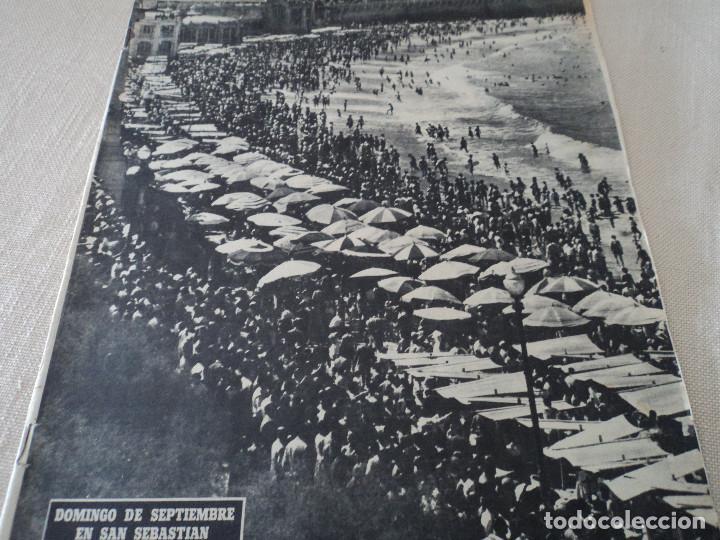 REVISTA DESTINO EL JAPONES EN ZAPATILLAS Nº 945, AÑO 1955 VER FOTOS (Coleccionismo - Revistas y Periódicos Modernos (a partir de 1.940) - Revista Destino)