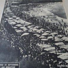 Coleccionismo de Revista Destino: REVISTA DESTINO EL JAPONES EN ZAPATILLAS Nº 945, AÑO 1955 VER FOTOS. Lote 192242841