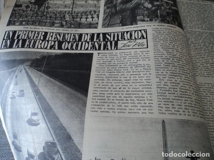 Coleccionismo de Revista Destino: REVISTA DESTINO EL JAPONES EN ZAPATILLAS Nº 945, AÑO 1955 ver fotos - Foto 5 - 192242841