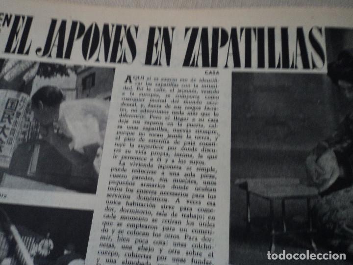 Coleccionismo de Revista Destino: REVISTA DESTINO EL JAPONES EN ZAPATILLAS Nº 945, AÑO 1955 ver fotos - Foto 9 - 192242841
