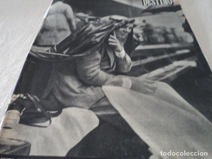 REVISTA DESTINO PABLO GARSABALL Nº 883, AÑO 1954 VER FOTOS (Coleccionismo - Revistas y Periódicos Modernos (a partir de 1.940) - Revista Destino)