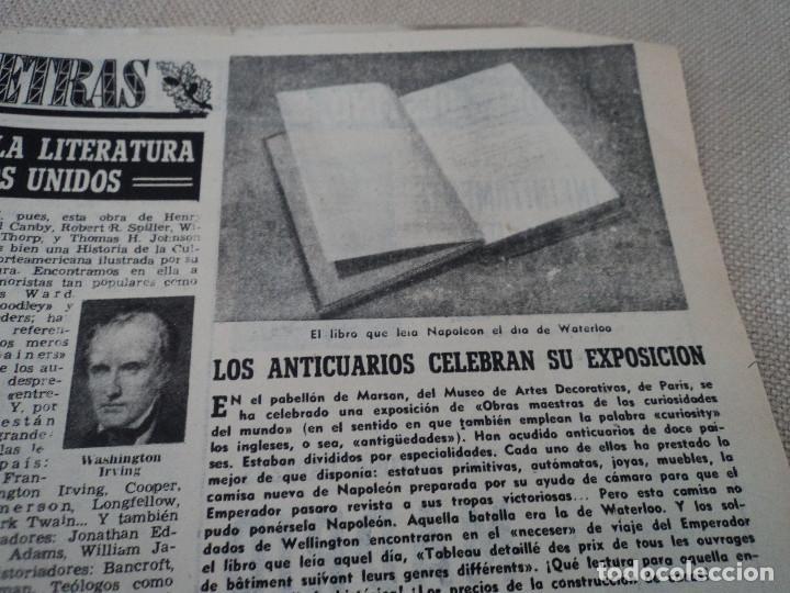 Coleccionismo de Revista Destino: REVISTA DESTINO PABLO GARSABALL Nº 883, AÑO 1954 ver fotos - Foto 10 - 192243237