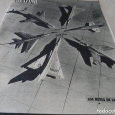 Coleccionismo de Revista Destino: REVISTA DESTINO JUAN ESTELRICH Nº 1090, AÑO 1958 VER FOTOS. Lote 192243400
