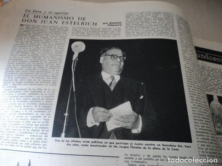 Coleccionismo de Revista Destino: REVISTA DESTINO JUAN ESTELRICH Nº 1090, AÑO 1958 ver fotos - Foto 6 - 192243400