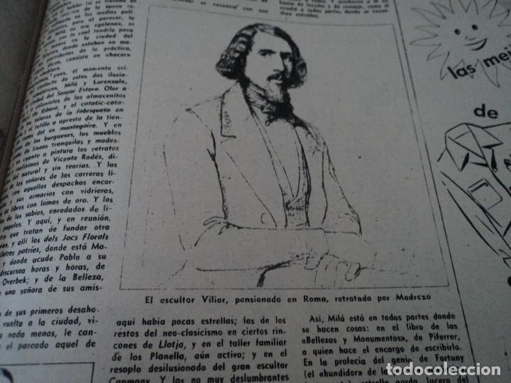 Coleccionismo de Revista Destino: REVISTA DESTINO JUAN ESTELRICH Nº 1090, AÑO 1958 ver fotos - Foto 10 - 192243400