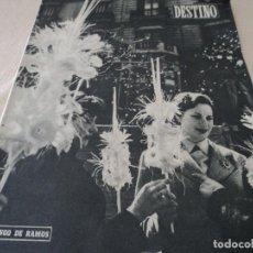 Coleccionismo de Revista Destino: REVISTA DESTINO EL RELOJ MAS FAMOSO DEL MUNDO Nº 972, AÑO 1956 VER FOTOS. Lote 192243558