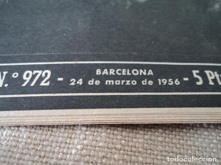 Coleccionismo de Revista Destino: REVISTA DESTINO EL RELOJ MAS FAMOSO DEL MUNDO Nº 972, AÑO 1956 ver fotos - Foto 2 - 192243558