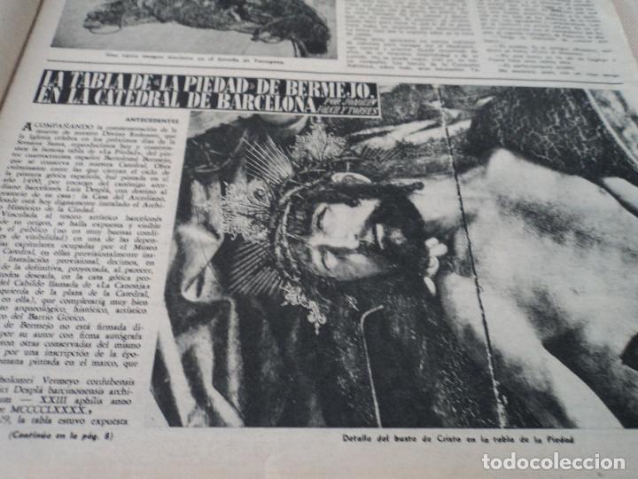 Coleccionismo de Revista Destino: REVISTA DESTINO EL RELOJ MAS FAMOSO DEL MUNDO Nº 972, AÑO 1956 ver fotos - Foto 3 - 192243558