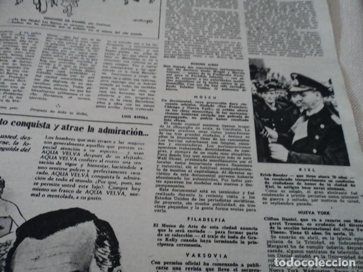 Coleccionismo de Revista Destino: REVISTA DESTINO EL RELOJ MAS FAMOSO DEL MUNDO Nº 972, AÑO 1956 ver fotos - Foto 8 - 192243558