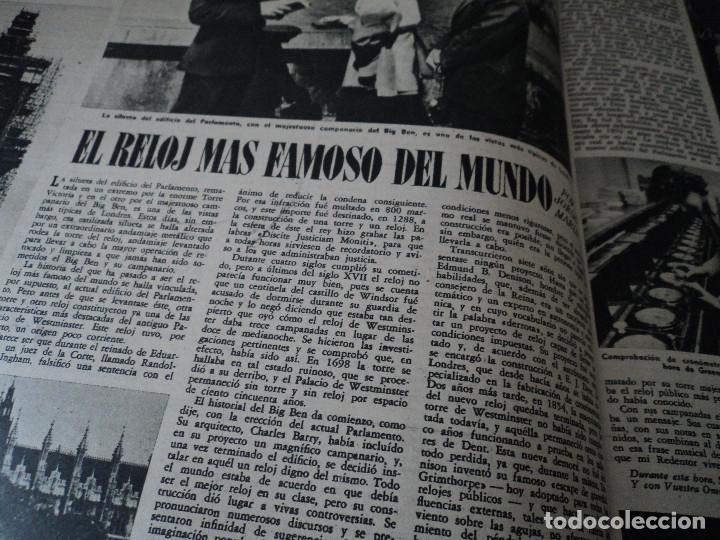 Coleccionismo de Revista Destino: REVISTA DESTINO EL RELOJ MAS FAMOSO DEL MUNDO Nº 972, AÑO 1956 ver fotos - Foto 9 - 192243558