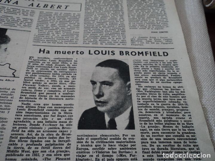 Coleccionismo de Revista Destino: REVISTA DESTINO EL RELOJ MAS FAMOSO DEL MUNDO Nº 972, AÑO 1956 ver fotos - Foto 11 - 192243558