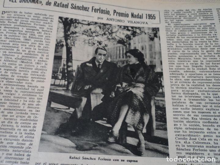 Coleccionismo de Revista Destino: REVISTA DESTINO EL RELOJ MAS FAMOSO DEL MUNDO Nº 972, AÑO 1956 ver fotos - Foto 14 - 192243558