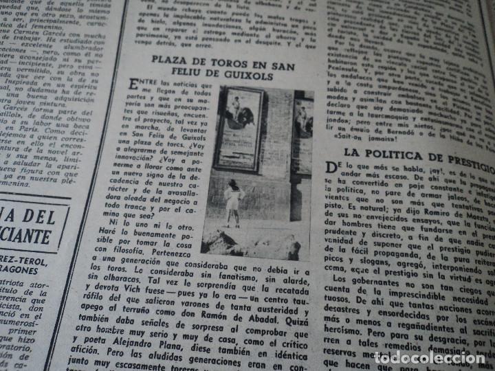Coleccionismo de Revista Destino: REVISTA DESTINO EL RELOJ MAS FAMOSO DEL MUNDO Nº 972, AÑO 1956 ver fotos - Foto 16 - 192243558