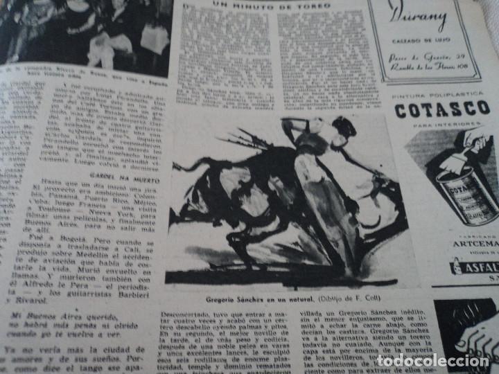 Coleccionismo de Revista Destino: REVISTA DESTINO EL RELOJ MAS FAMOSO DEL MUNDO Nº 972, AÑO 1956 ver fotos - Foto 17 - 192243558