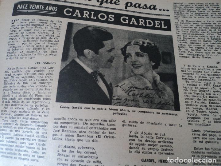 Coleccionismo de Revista Destino: REVISTA DESTINO EL RELOJ MAS FAMOSO DEL MUNDO Nº 972, AÑO 1956 ver fotos - Foto 18 - 192243558