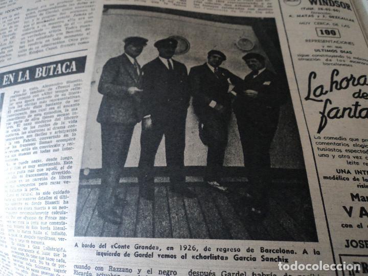 Coleccionismo de Revista Destino: REVISTA DESTINO EL RELOJ MAS FAMOSO DEL MUNDO Nº 972, AÑO 1956 ver fotos - Foto 19 - 192243558