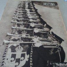 Coleccionismo de Revista Destino: REVISTA DESTINO Nº 972, AÑO 1953 MOMIAS EN EL VALLE DE LOS REYES VER FOTOS. Lote 192243718