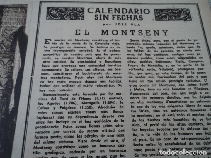 Coleccionismo de Revista Destino: REVISTA DESTINO Nº 972, AÑO 1953 MOMIAS EN EL VALLE DE LOS REYES ver fotos - Foto 6 - 192243718