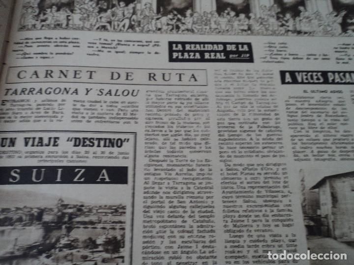 Coleccionismo de Revista Destino: REVISTA DESTINO Nº 972, AÑO 1953 MOMIAS EN EL VALLE DE LOS REYES ver fotos - Foto 8 - 192243718